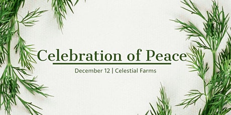 Celebration of Peace tickets