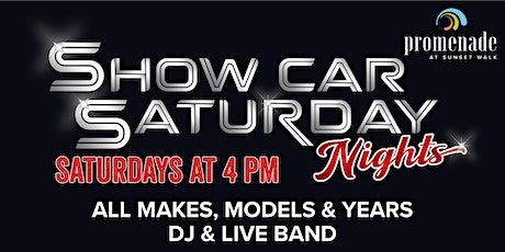 Show Car Saturday Nights tickets