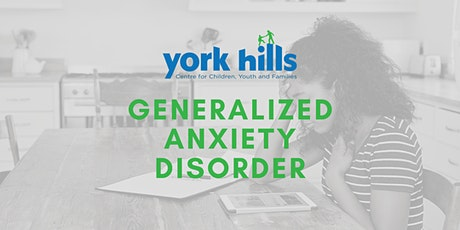 Generalized Anxiety Disorder tickets