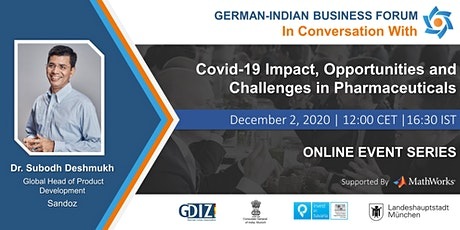 Covid-19 Impact, Opportunities and Challenges in Pharmaceuticals tickets