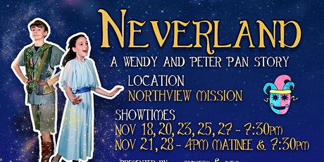 Neverland: A Wendy and Peter Pan Story tickets