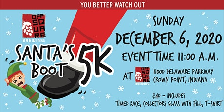 Santa's Boot 5K Run/Walk tickets