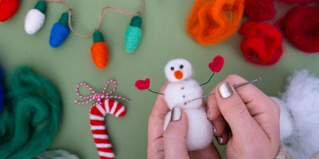 Needle Felted Ornaments WebJam tickets