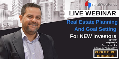 Real Estate Planning And Goal Setting For New Investors tickets