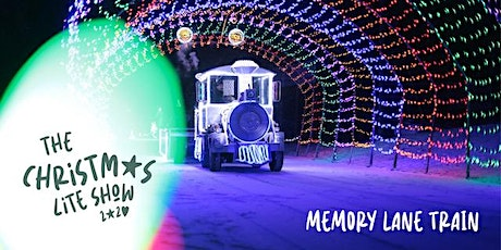 Memory Lane Train - Christmas Lite Show tickets