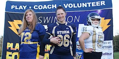 Swindon Storm's Women's American Football Team Recruiting Now! tickets