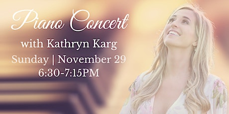 Piano Concert with Kathryn Karg tickets