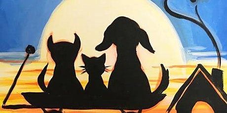 Come Paint With Us Sunset Pets tickets