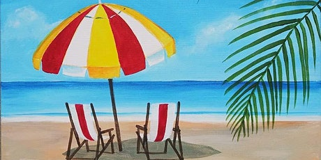 "Paint and sip - ""Relax at the Beach"" - Thorn Brewing Barrio Logan tickets"