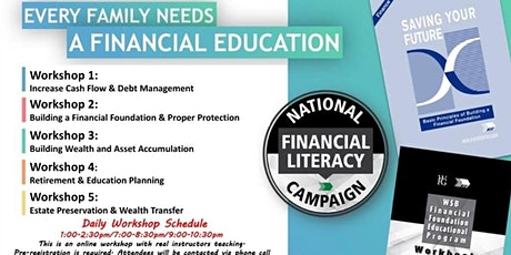 Financial Education Workshop-Daily Event Tickets