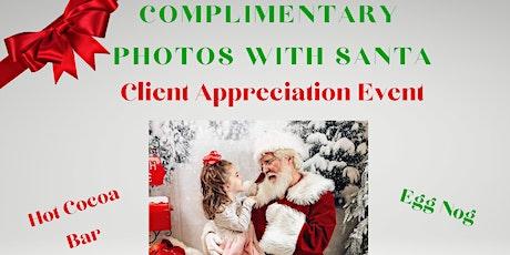 Photos with Santa in Montgomery! tickets