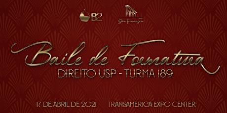 Baile de Formatura USP DIREITO  189 ingressos