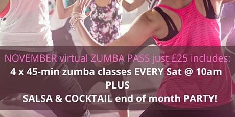 Zumba Fitness Classes by Chloé Gold tickets