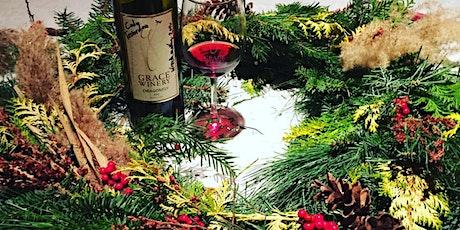 Wine & Wreath Workshop 4:00 tickets
