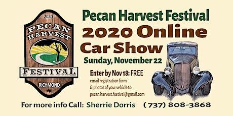 2020 Pecan Harvest Festival - ONLINE Car Show + New Website NOV 22! tickets
