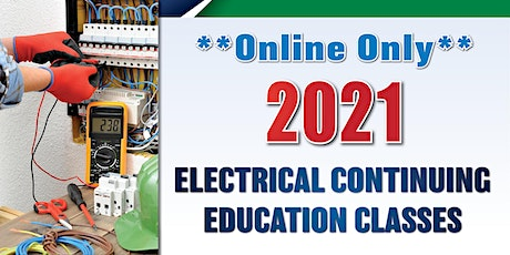 Online-only Electrical Continuing Education Class (Jan. 6) tickets
