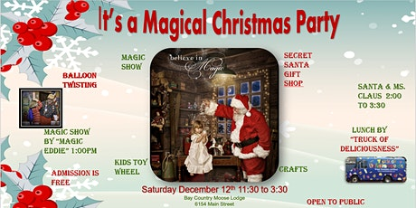 It's a Magical Christmas Party tickets