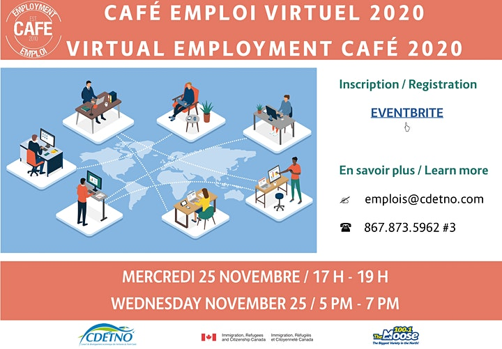 Café Emploi / Employment Café image
