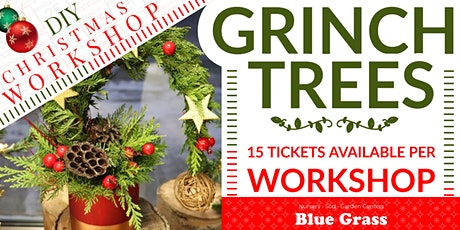 Christmas Grinch Trees - DIY Workshop tickets