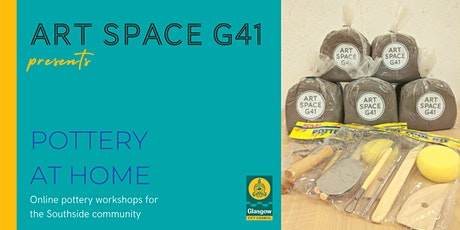 Pottery at Home - Glasgow Southside residents tickets