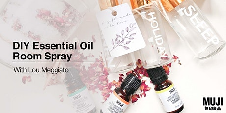 DIY Essential Oil Room Spray with Lou Meggiato tickets