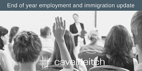 POSTPONED – End of year employment and immigration update tickets