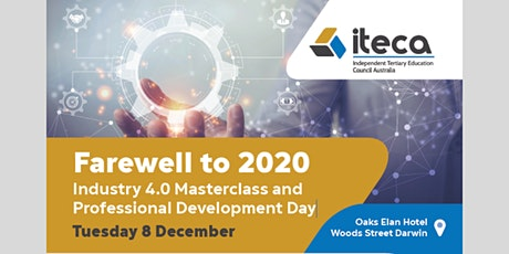 ITECA  Industry 4.0 Masterclass and Professional Development Day tickets