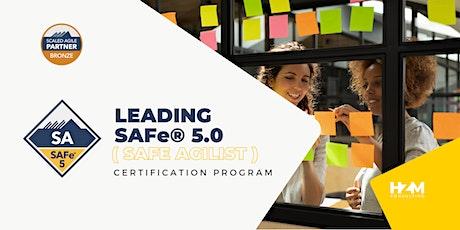 Leading SAFe® 5.0 ( SAFe Agilist ) Certification Program tickets