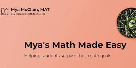 Math Skills Workshops tickets