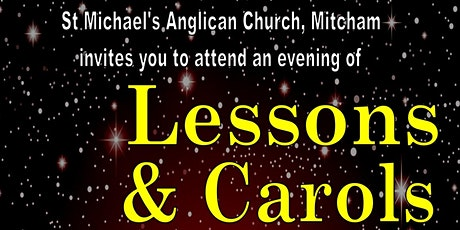St Michael's Anglican Church Mitcham, Nine Lessons and Carols tickets