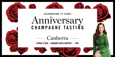 Canberra Champagne Tasting - 15 Year Anniversary tickets