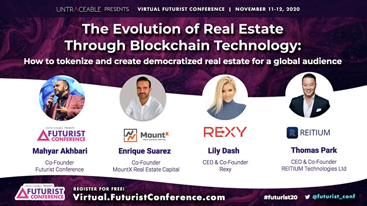 Virtual Futurist Conference 2020: FREE Blockchain & Cryptocurrency Event image