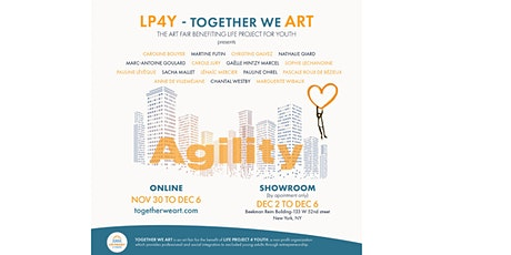 TOGETHER WE ART, ART SALE FOR LP4Y, IN NYC - DEC 2, 11 AM to DEC 6, 6PM tickets