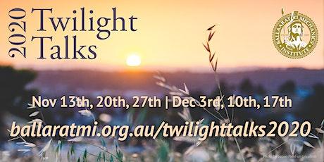 Twilight Talks 2020 - Peter Hiscock tickets