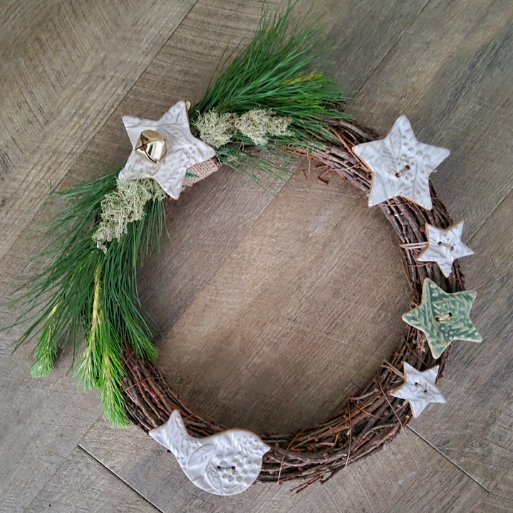 Campo de Flori Christmas Wreath Workshop image