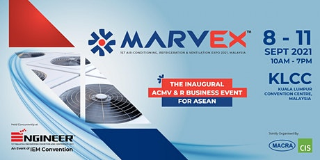 MARVEX 2021 - 1st Air-Conditioning, Refrigeration & Ventilation EXPO 2021 tickets