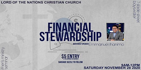 Men's connect: Financial Stewardship with Emmanuel Ihamino tickets