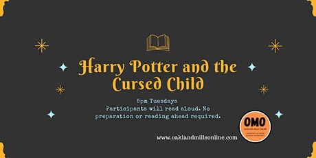 OMO's Bookclub: Harry Potter and the Cursed Child tickets