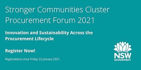 Procurement Forum 2021 tickets