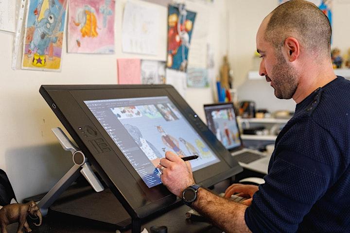 Cartooning and Comics-Making Workshop! image