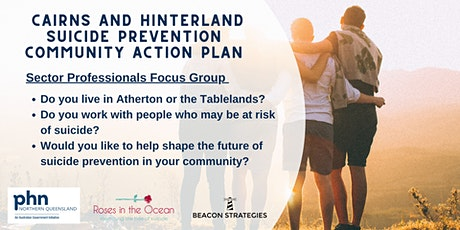 Sector professionals focus group: Atherton / Tablelands tickets