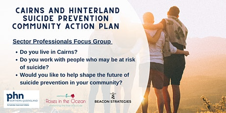 Sector professionals focus group: Cairns (South) tickets