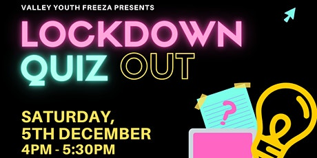 Lockdown Qiuz Out -  FReeZA Trivia Event tickets