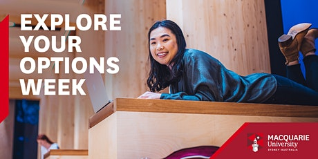 Macquarie Uni's 2020 Explore Your Options Week:  Scholarships tickets