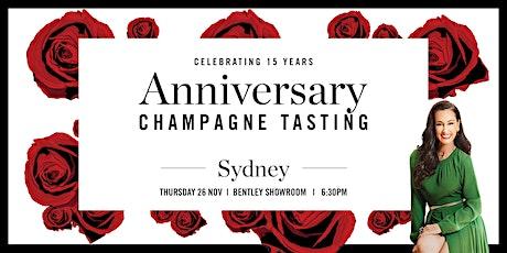 Sydney Champagne Tasting - 15 Year Anniversary tickets