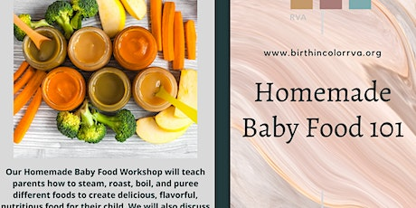 How to make baby food 101 tickets
