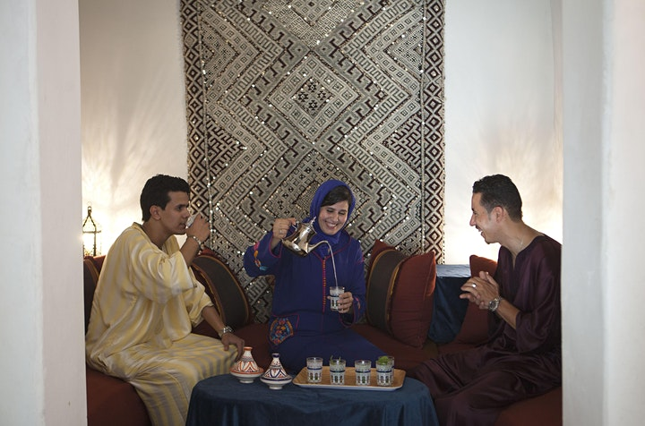 Join Us for Tea & Stories of Morocco's Medieval Fez Medina image