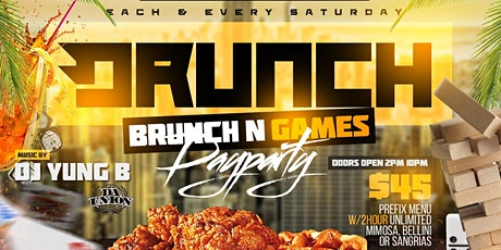 Drunch Brunch N Game Day Party at AllStar NYC Midtown tickets