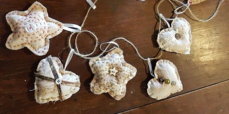 Workshop: Upcycled Xmas Decorations tickets