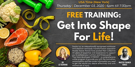 Get Into Shape For Life - USA tickets